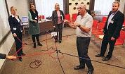 DVCT-Finale zum Coach & Trainer Award 2015: Dr. Walter Schoger mit einer Live-Demonstration zum comforming